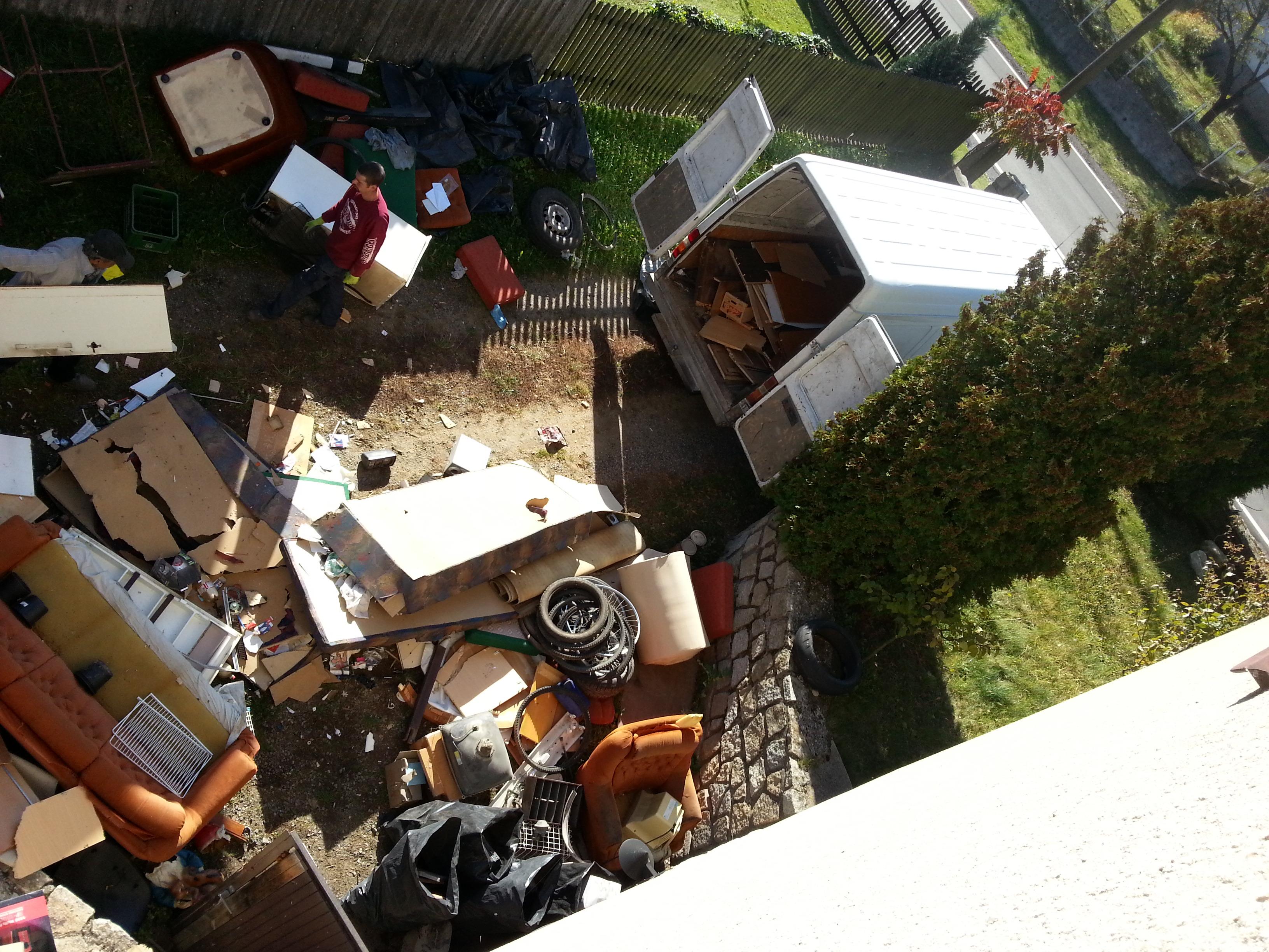 Vyklízení a likvidace odpadu